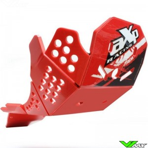AXP Enduro Xtrem PHD Skidplate Red - Honda CRF450R CRF450RX