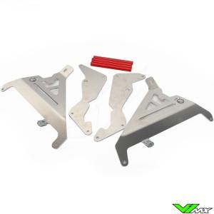 AXP Radiateurbeschermers Rood - Honda CRF250R CRF250RX