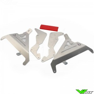 AXP Radiator Guards Red - Honda CRF250R CRF250RX