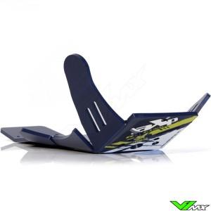 AXP Enduro Xtrem PHD Skidplate Blue - Husqvarna FC250 FC350 FX350