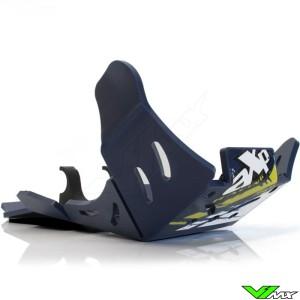 AXP Enduro Xtrem PHD Skidplate Blue - Husqvarna FE250 FE350