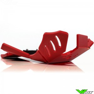AXP Enduro Xtrem PHD Skidplate Red - Beta RR250-2T RR300-2T