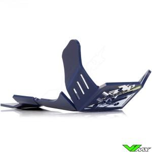 AXP Enduro Xtrem PHD Skidplate Blue - Husqvarna FC450 FX450