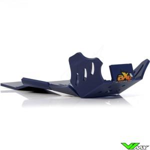 AXP Enduro Xtrem PHD Skidplate Blauw - Husqvarna TC250 TX300