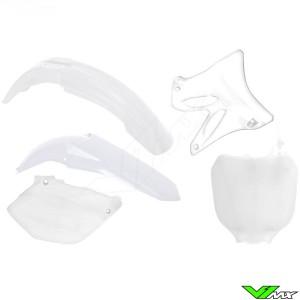 Rtech Plastic Kit White - Yamaha YZ125 YZ250