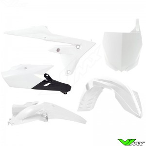 Rtech Plastic Kit White - Yamaha YZF250 YZF450