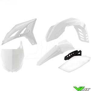 Rtech Plastic Kit White - Yamaha YZF250