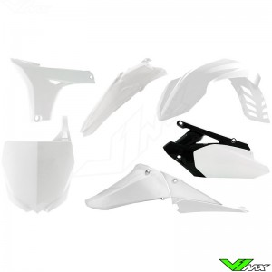 Rtech Plastic Kit White - Yamaha YZF450
