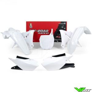 Rtech Plastic Kit White - Yamaha YZF250 YZF450 YZF250X YZF450X