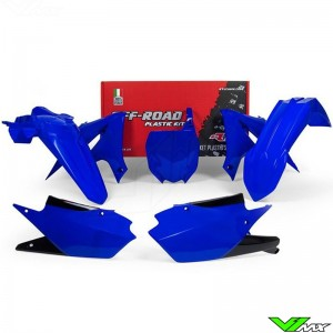 Rtech Plastic Kit YZ Blue - Yamaha YZF250 YZF450 YZF250X YZF450X