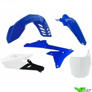 Rtech Plastic Kit YZ Blue / White - Yamaha YZF250X YZF450X WR250F WR450F