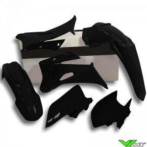 Rtech Plastic Kit Black - Yamaha WR250F WR450F