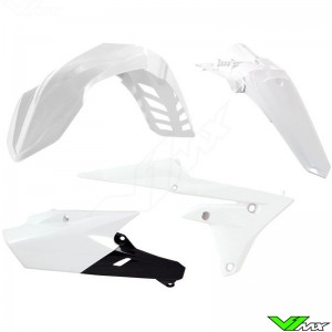 Rtech Plastic Kit White - Yamaha WR250F WR450F