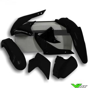 Rtech Plastic Kit Black - Kawasaki KLX450