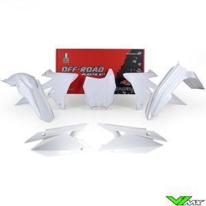 Rtech Plastic Kit White - Suzuki RMZ250 RMZ450
