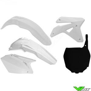 Rtech Plastic Kit White - Suzuki RMZ450