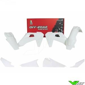 Rtech Plastic Kit White - Husqvarna FE250 FE350 FE450 FE501 TE150 TE250 TE300