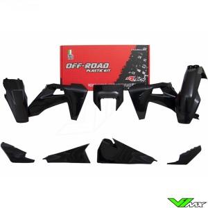 Rtech Plastic Kit Black - Husqvarna FE250 FE350 FE450 FE501 TE150 TE250 TE300
