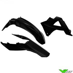 Rtech Plastic Kit Black - GasGas MC250 EC125 EC250 EC300 EC250F EC450F