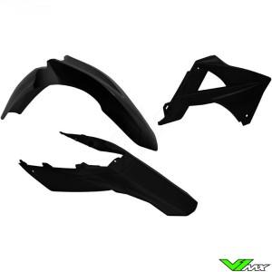Rtech Plastic Kit Black - GasGas EC125 EC200 EC250 EC300 EC250F