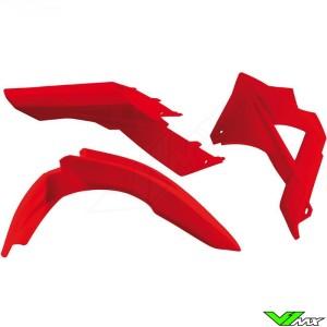 Rtech Plastic Kit GG Red - GasGas EC125 EC200 EC250 EC300 EC250F