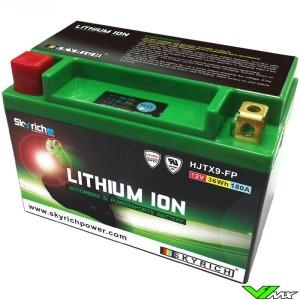 Skyrich LTX9-BS Lithium Ion Accu 12V 3Ah - Kawasaki KLX650R Suzuki DR650SE