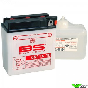 BS Battery 6N11A-1B Battery 6V 11,6Ah - Husqvarna WR125