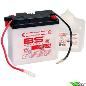 BS Battery 6N4B-2A Accu 6V 4,2Ah - Kawasaki KDX175