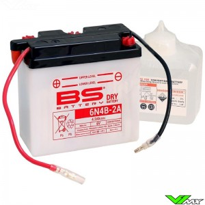 BS Battery 6N4B-2A Battery 6V 4,2Ah - Kawasaki KDX175