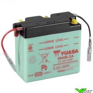 YUASA 6N4B-2A Battery 6V 4,2Ah - Kawasaki KDX175