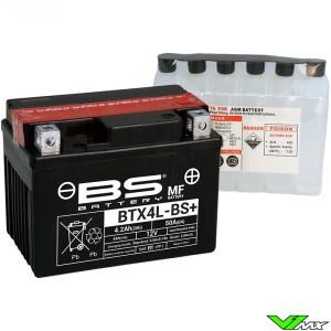 BS Battery BTX4L-BS Accu 12V 4,2Ah - KTM Suzuki Honda Yamaha Husqvarna Husaberg