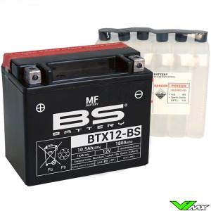 BS Battery BTX12-BS Accu 12V 10,5Ah - Suzuki DR650RE DR650SES