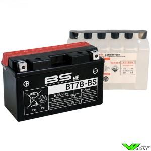 BS Battery BT7B-BS Accu 12V 6,8Ah - Kawasaki KLX400 Suzuki DRZ400 Yamaha TT-R250