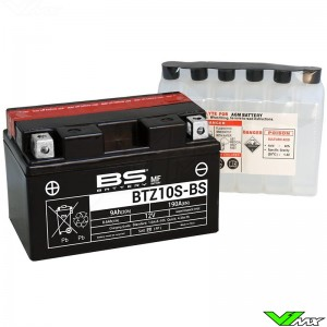 BS Battery BTZ10S-BS Battery 12V 8,6Ah - KTM Enduro690