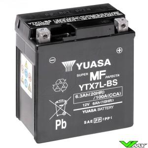 YUASA YTX7L-BS Battery 12V 6,3Ah - Suzuki DR200 Honda CRF250L XR200