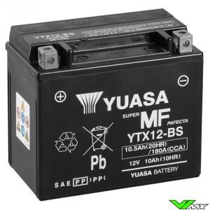 YUASA YTX12-BS Accu 12V 10,5Ah - Suzuki DR650RE DR650SES