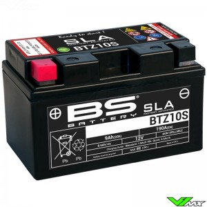 BS Battery BTZ10S SLA Battery 12V 9Ah - KTM Enduro690
