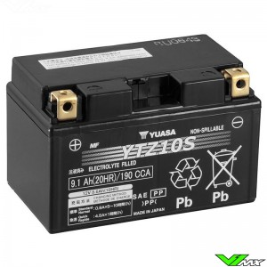 YUASA YTZ10S Battery 12V 9,1Ah - KTM Enduro690