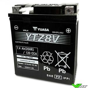 YUASA YTZ8V Battery 12V 7,4Ah - Honda CRF250L