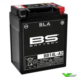 BS Battery BB14L-A2 SLA Accu 12V 14,7Ah - Kawasaki KLR650Tengaï