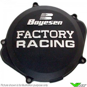 Boyesen Clutch Cover Black - Honda CRF250R CRF250RX