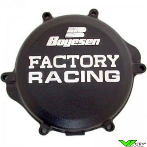Boyesen Clutch Cover Black - Suzuki RM125