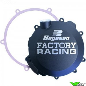 Boyesen Clutch Cover Black - KTM 250SX 250EXC 300EXC Husqvarna TC250 TE250 TE300