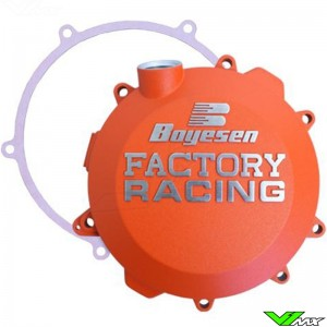 Boyesen Clutch Cover Orange - KTM 250SX 250EXC 300EXC Husqvarna TC250 TE250 TE300