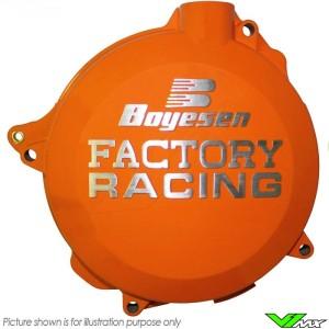 Boyesen Clutch Cover Orange - KTM 450SX-F 450EXC 500EXC Husqvarna FC450 FE450 FE501