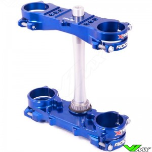 X-trig ROCS Tech Triple Clamp Blue - Yamaha YZ125