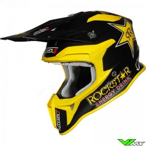 Just1 J18 Motocross Helmet - Rockstar Energy