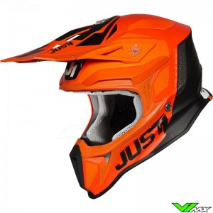 Just1 J18 Crosshelm - Pulsar / Oranje