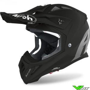 Airoh Aviator Ace Motocross Helmet - Matt Black