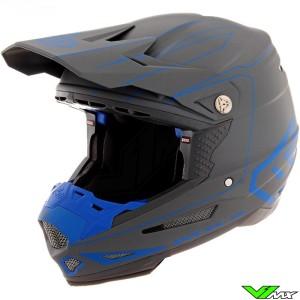 6D ATR-2 Motocross Helmet - Recon / Blue